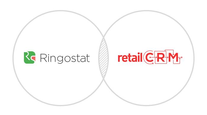 интеграция ringostat retail crm