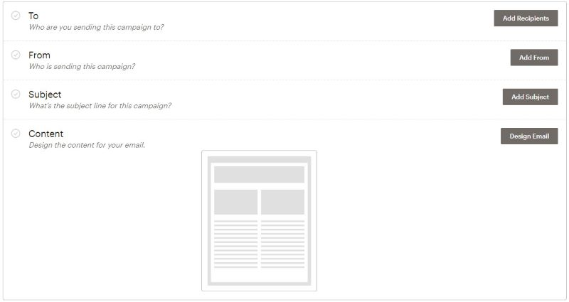 Как настроить рассылку в MailChimp