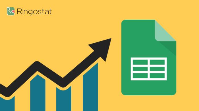передача данных из Google Analytics в Google Таблицы
