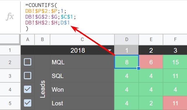 проверка данных у гугл таблицах