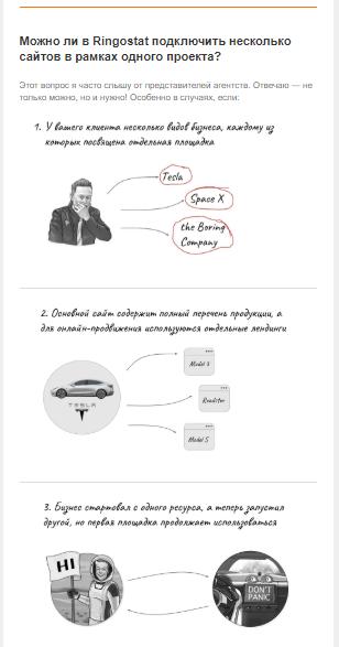 инфографика в рассылках