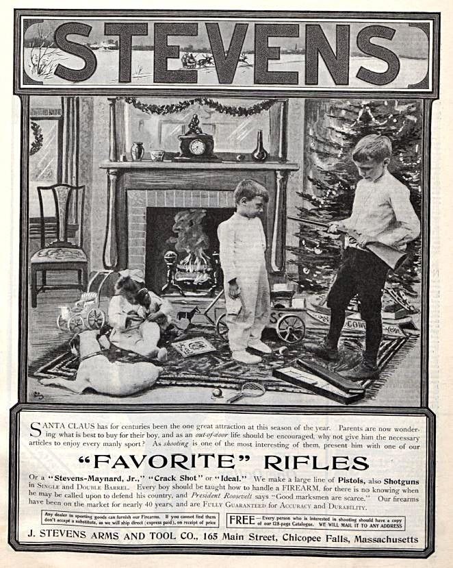 Реклама ружья для детей огнестрельное