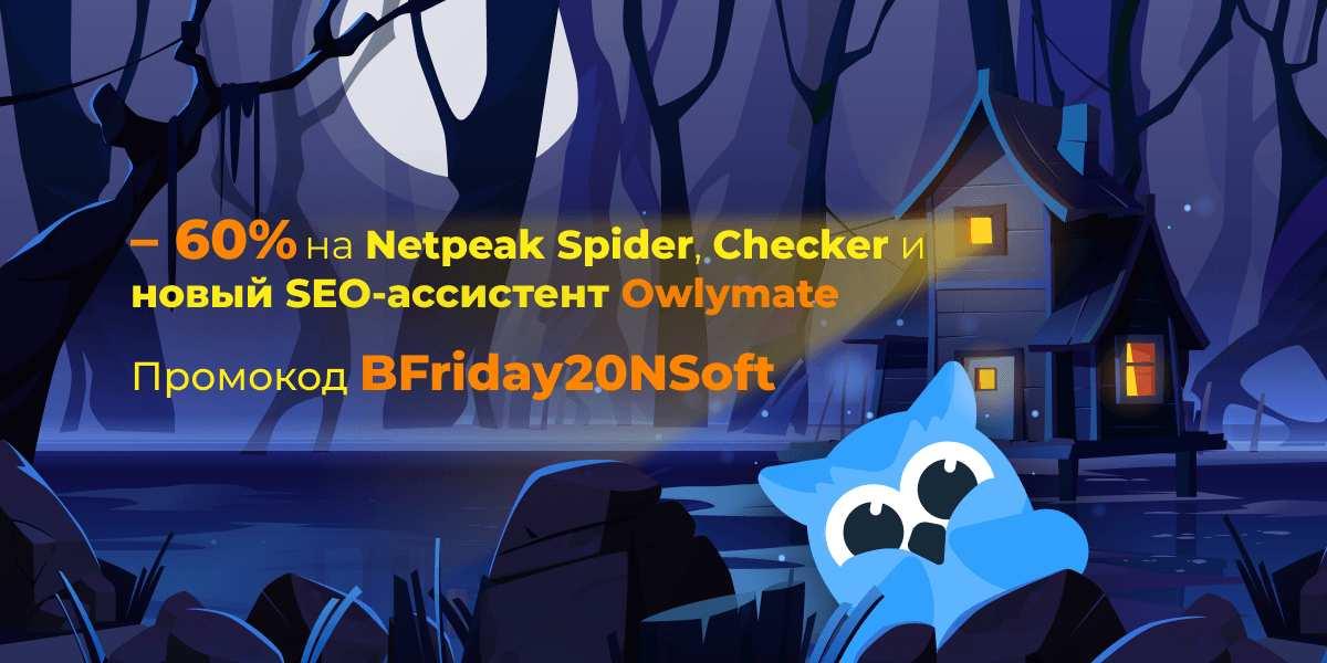 Netpeak  Software Черная пятница
