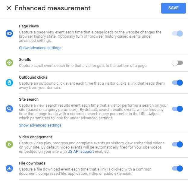 Отличия Google Analytics 4 App + Web и Universal Analytics — Метрики, заданные по умолчанию