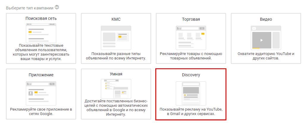 Кампании Discovery: особенности, плюсы и настройка