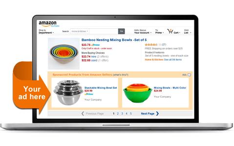 Реклама на Amazon, ppc for amazon, ppc on amazon