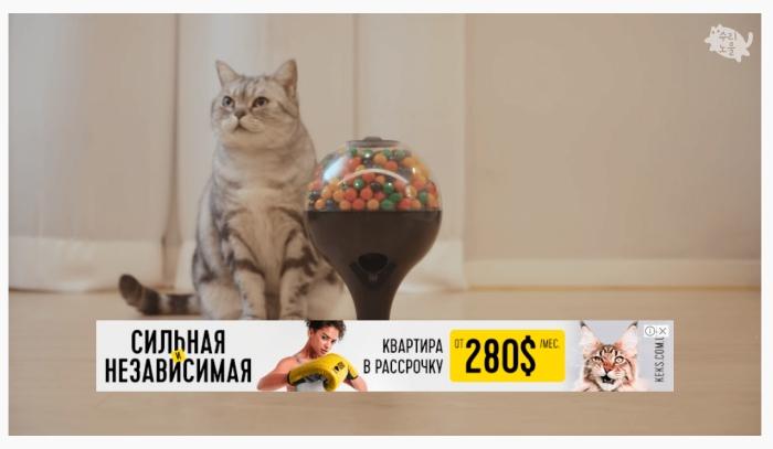 Оверлей, рекламный баннер Оверлей, размещение баннера Overlay Ads на YouTube