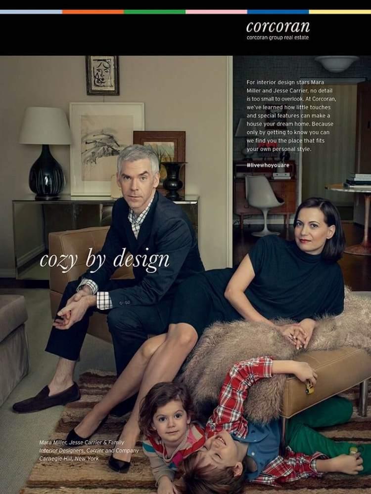 Печатная реклама от Corcoran